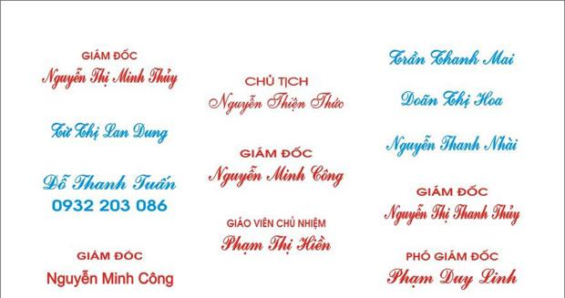 khắc dấu tròn tại Việt Trì cho các tổ chức công ty, doanh nghiệp